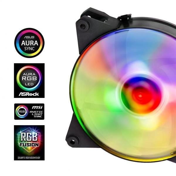 Ventilator Cooler Master Fan Pro 120 Air Pressure RGB