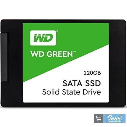 Disk WD SSD 120GB Green 2.5""