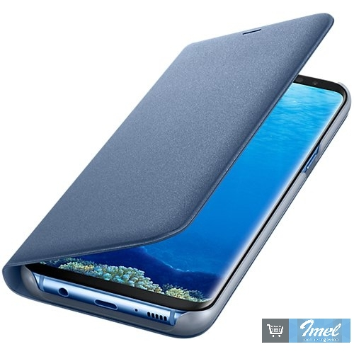 Samsung Galaxy S8 Plus LED View Cover Blue