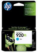 Tinta HP 920XL, CD972AE, Cyan