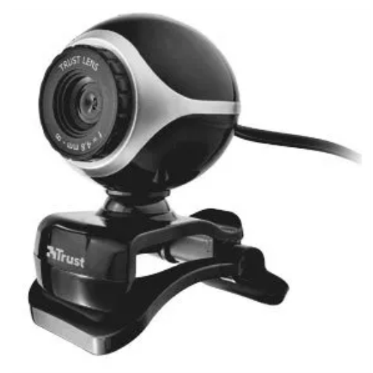Exis Webcam - black/silver 17003